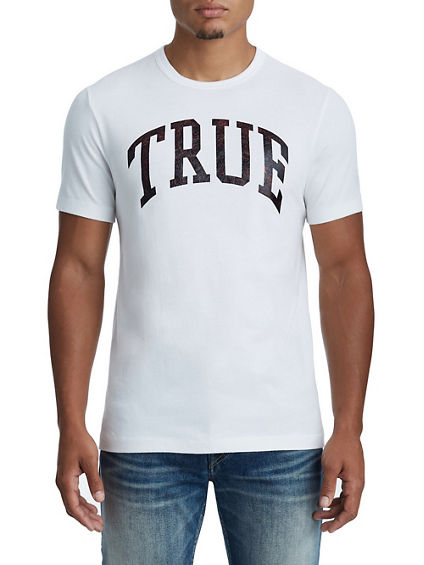 METALLIC TRUE LOGO TEE