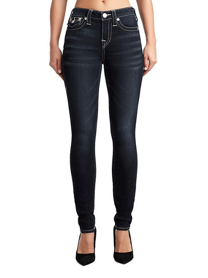 SUPER SKINNY W/ FLAP WOMENS JEAN