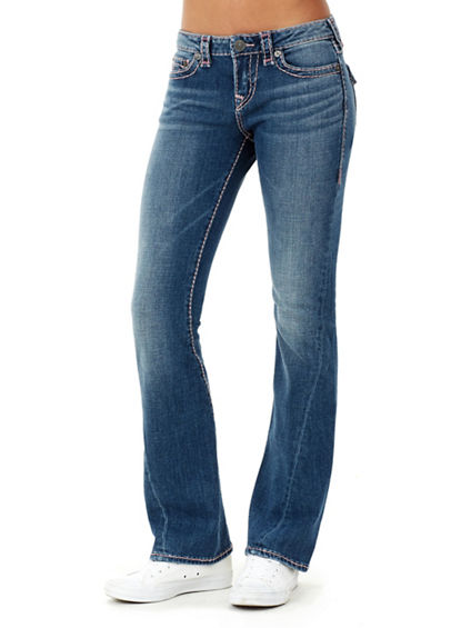 BECCA TWIST SEAM SUPER T WOMENS JEAN