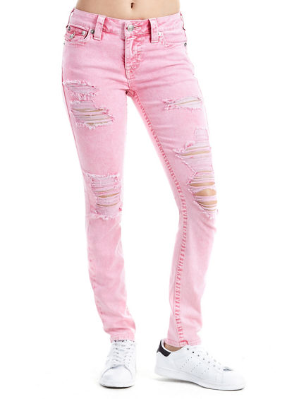 SUPER SKINNY FIT DISTRESSED PANT