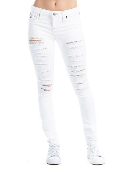 SUPER SKINNY FIT DISTRESSED JEAN