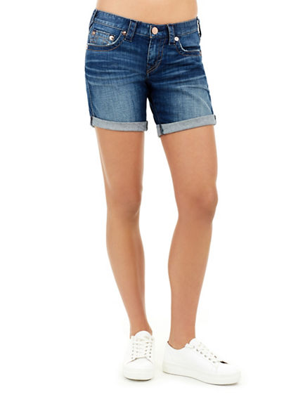 JAYDE FLAP MID RISE WOMENS SHORT