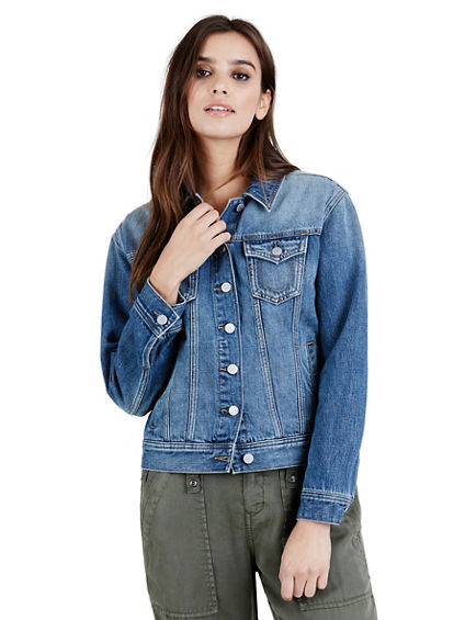 WOMENS TRUCKER  DENIM JACKET