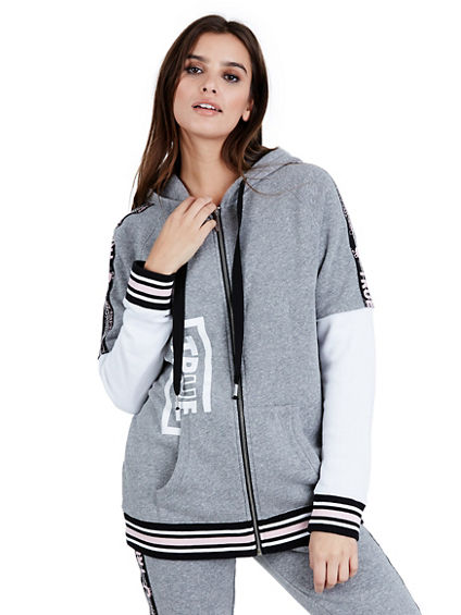 TRUE TAPE OVERSIZED WOMENS HOODIE