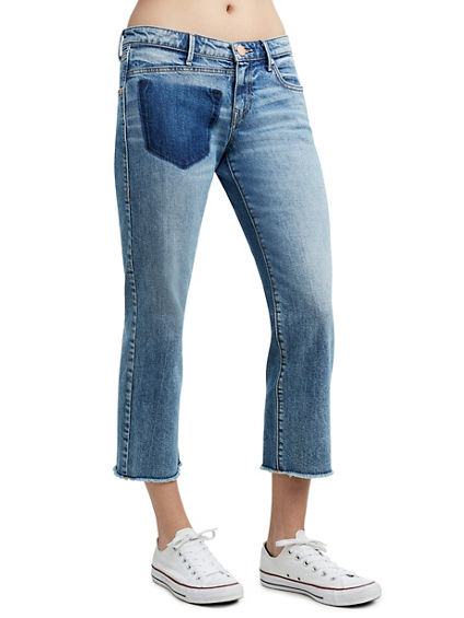 STARR CROP STRAIGHT WOMENS JEANS