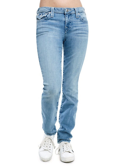 SUPER SKINNY FIT NATURAL STITCH JEAN