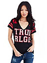 TR COLLEGIATE FOOTBALL WOMENS TEE