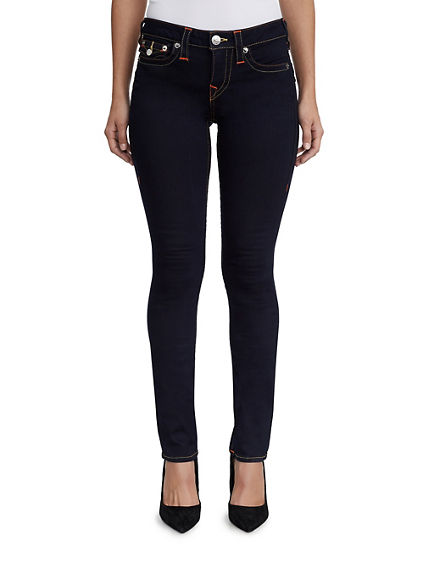 STRAIGHT FIT CONTOUR STITCH JEAN