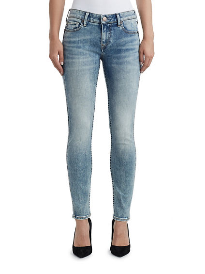 WOMENS HALLE SUPER SKINNY PERFECT JEAN