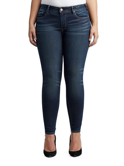 WOMENS JENNIE CURVY SKINNY PERFECT JEAN
