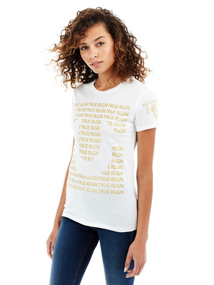 TR REPEAT WOMENS TEE