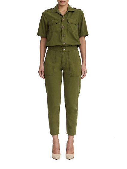 WOMENS UTILITY JUMPSUIT