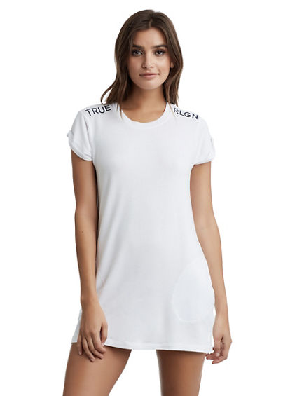 WOMENS T SHIRT DRESS