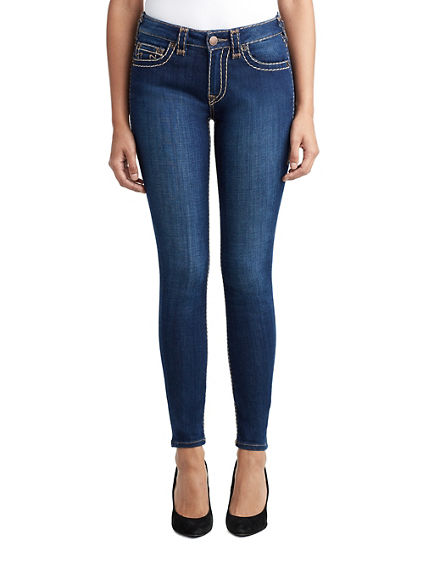 WOMENS MULTI SUPER T JENNIE CURVY SKINNY JEAN