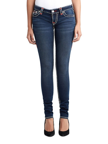 WOMENS MULTI SUPER T SKINNY JEAN W/ FLAP