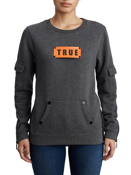 WOMENS UTILITY LOGO PULLOVER