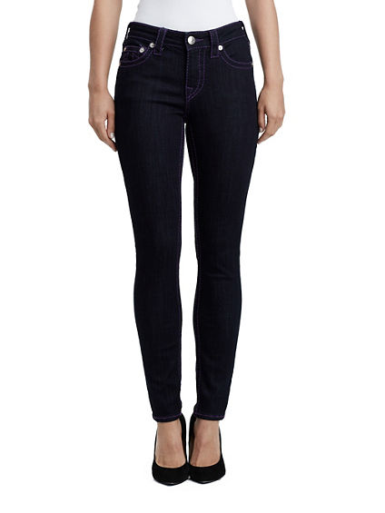 CURVY FIT PLUM BIG T ANKLE PANT