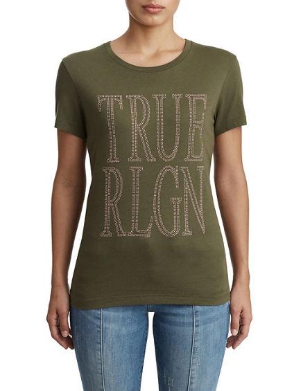 WOMENS BIG TRUE LOGO TEE