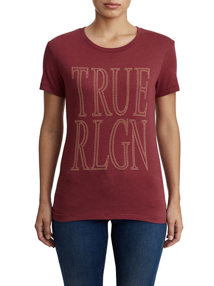WOMENS TRUE SCREEN PRINT TEE