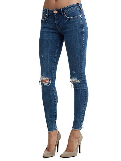 HALLE DOUBLE DESTROY WOMENS JEAN