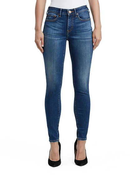 JENNIE PIN TUCK WOMENS JEAN