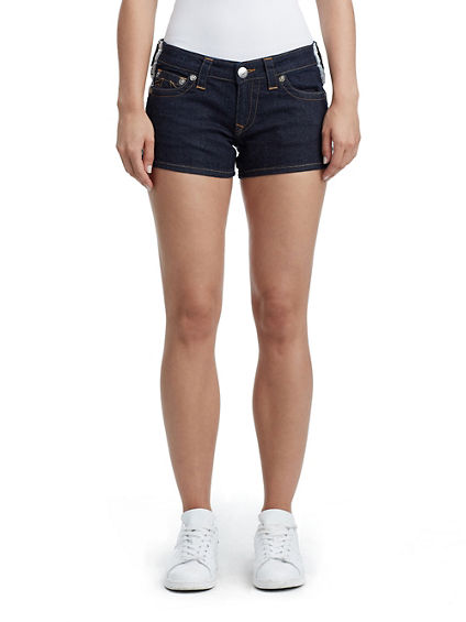 WOMENS JOEY CUT OFF SHORT W/ TAPING