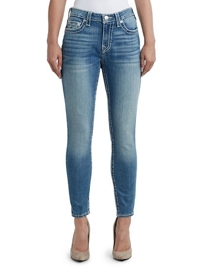 WOMENS BIG T CURVY SKINNY JEAN