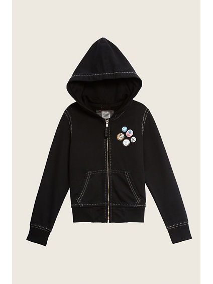 PATCHES KIDS HOODIE