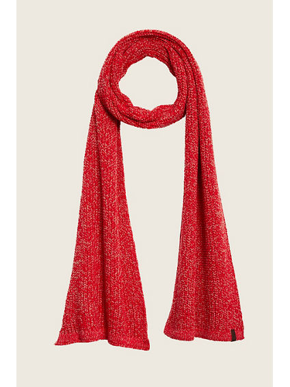 TWO TONE KNIT SCARF