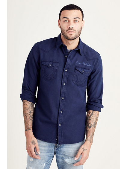 mens designer shirts true religion