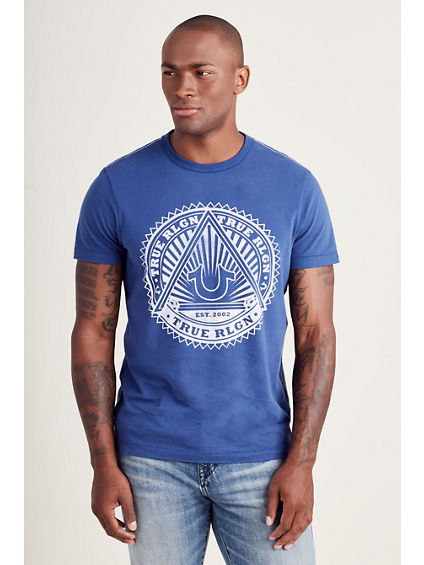 SUNBURST LOGO MENS TEE
