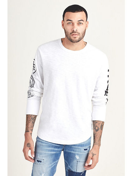 STACKED LOGO MENS TEE