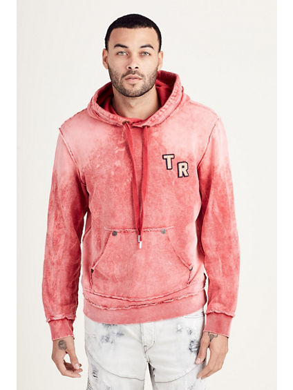 WASHED PULLOVER MENS HOODIE