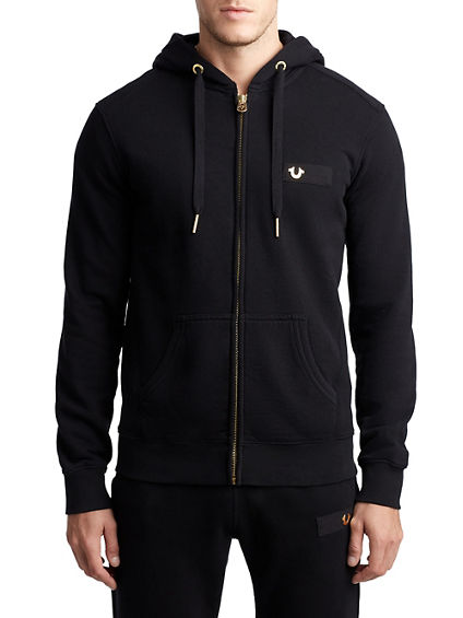 HOODED HORSESHOE JET MENS SWEATSHIRT