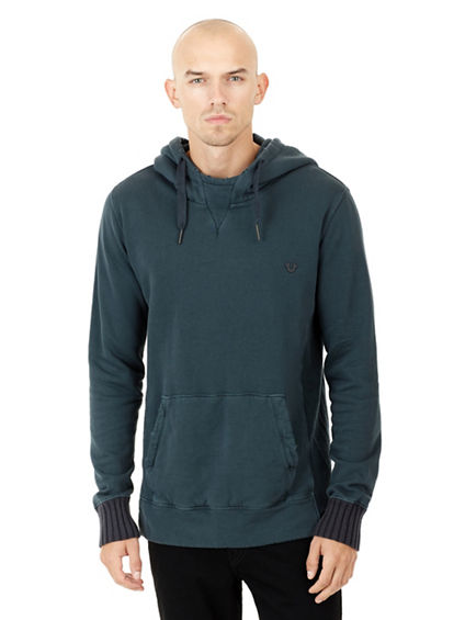 RELAXED MENS PULLOVER HOODIE