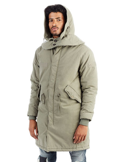 LONG MENS PARKA - True Religion