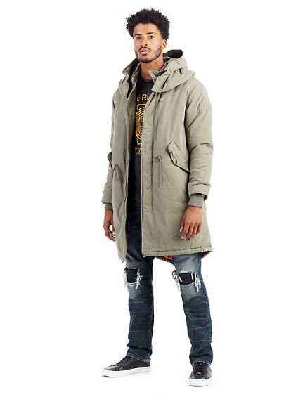 LONG MENS PARKA
