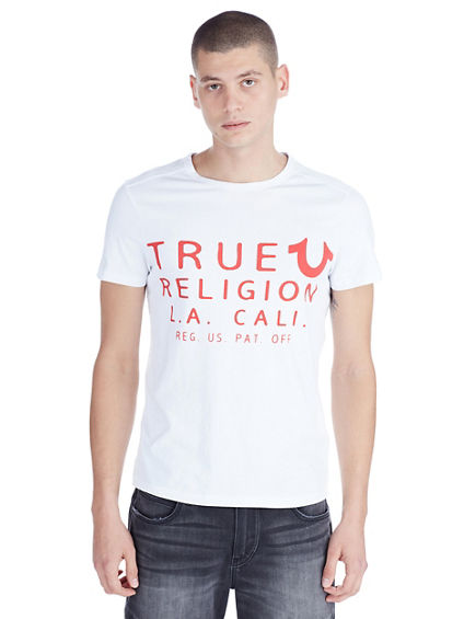 TRUE LA CREW NECK MENS TEE