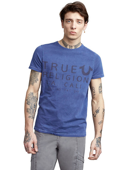 ARTWORK CREW NECK MENS SHIRT