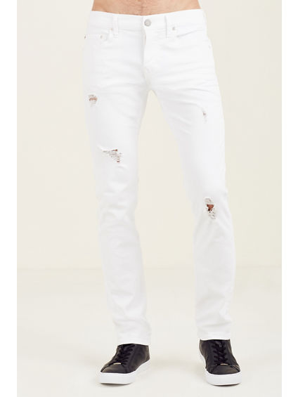 ROCCO DESTROYED MENS SKINNY JEAN