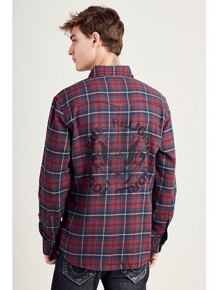 HAND PICKED WESTERN MENS SHIRT