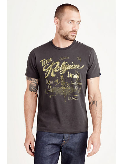 TR WHISKEY  MENS TEE
