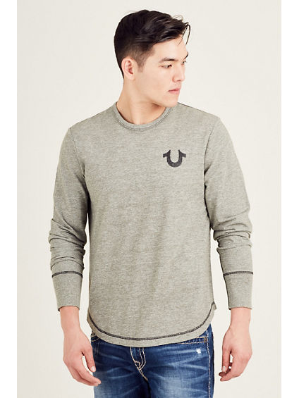 LONG SLEEVE SHOESTRING MENS TEE