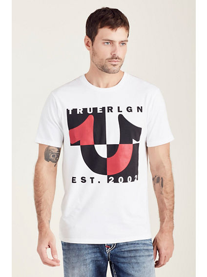 HORSESHOE SPLIT MENS TEE
