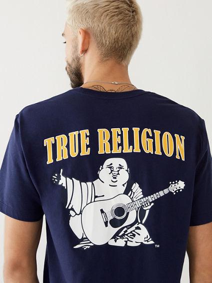BUDDHA LOGO MENS TEE