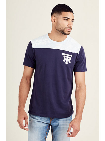 PALM FRONDS FOOTBALL MENS TEE