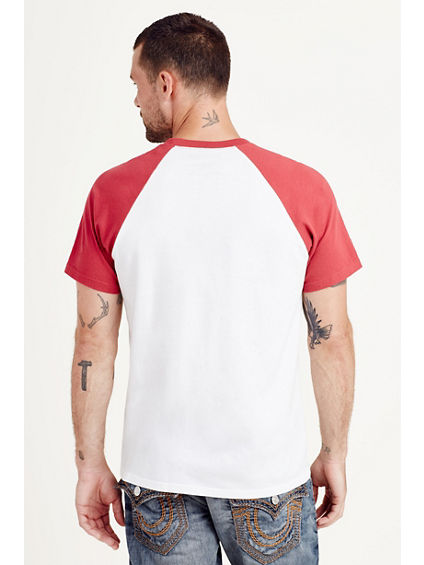 ROCK TOUR RAGLAN MENS TEE