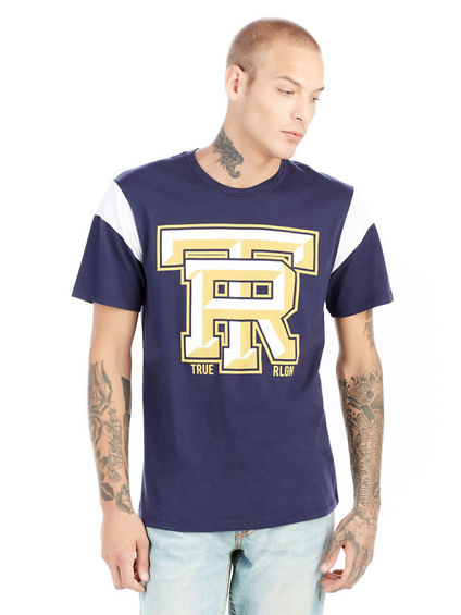 TR FOOTBALL CREW NECK MENS TEE