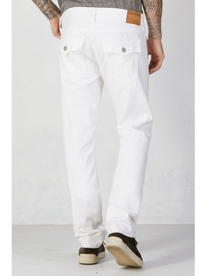 Optic White Ricky - Men's Straight Jeans - True Religion