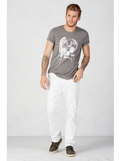 Optic White Ricky - Men&39s Straight Jeans - True Religion